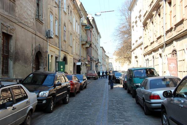 улочка в центральной части Львова