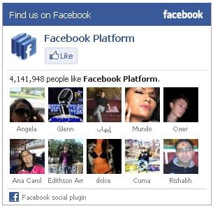 виджет Facebook