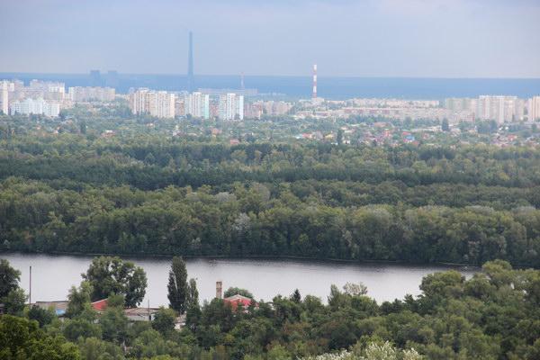 панорама Києва
