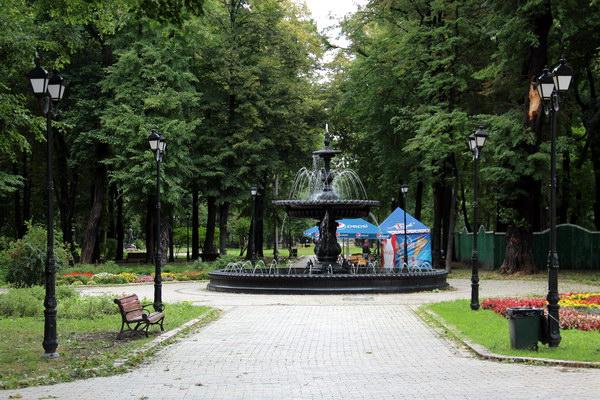 фонтан у міському парку
