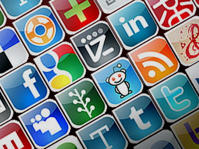 кнопки соціальних мереж