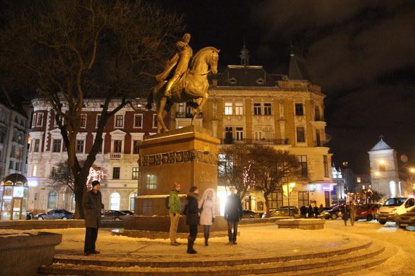 Данило Галицький на коні