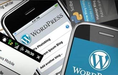 Мобільна версія блогу на WordPress