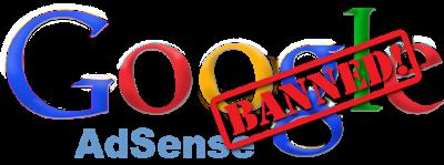 бан в Google Adsense